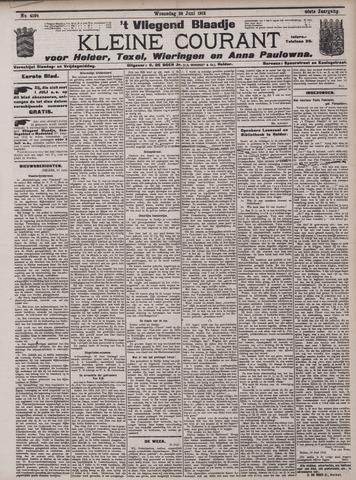 Vliegend blaadje : nieuws- en advertentiebode voor Den Helder 1912-06-26