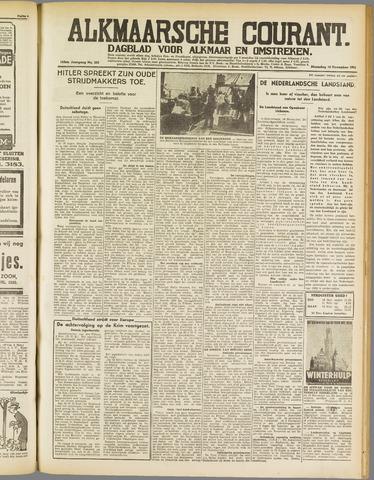 Alkmaarsche Courant 1941-11-10