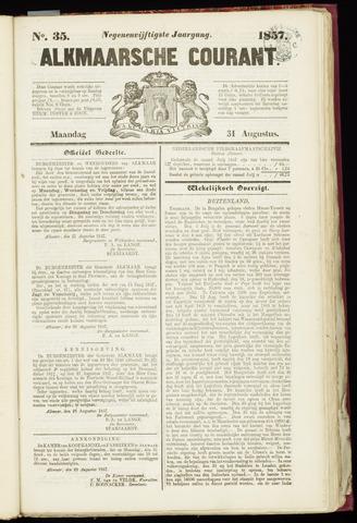 Alkmaarsche Courant 1857-08-31