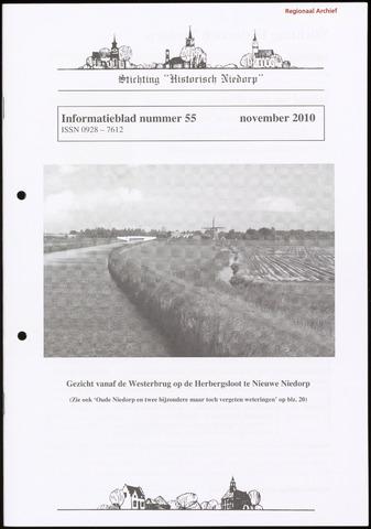 Informatieblad stichting Historisch Niedorp 2010-11-01