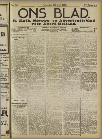 Ons Blad : katholiek nieuwsblad voor N-H 1910-07-30