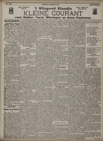 Vliegend blaadje : nieuws- en advertentiebode voor Den Helder 1908-08-08