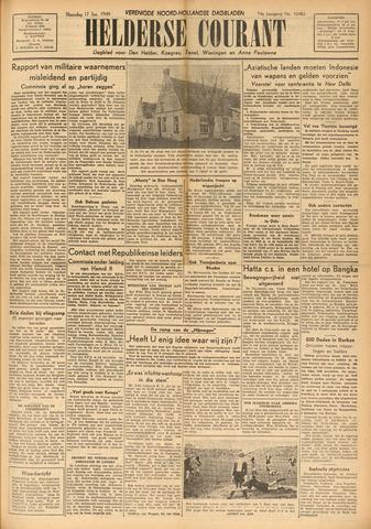 Heldersche Courant 1949-01-17