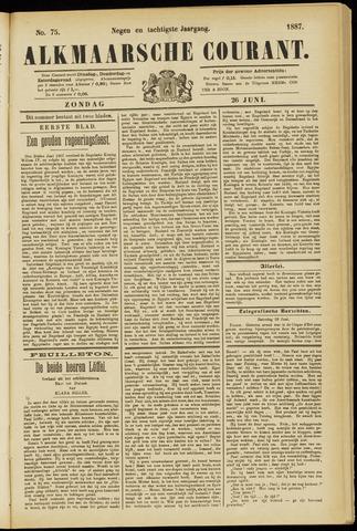 Alkmaarsche Courant 1887-06-26