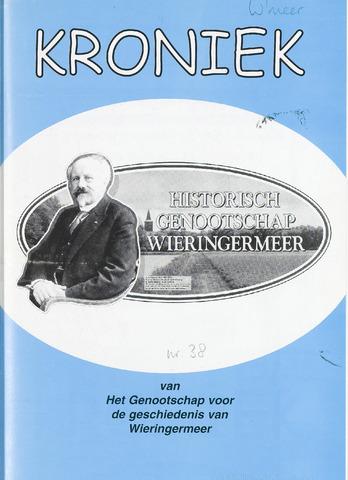 Kroniek Historisch Genootschap Wieringermeer 2004-08-01