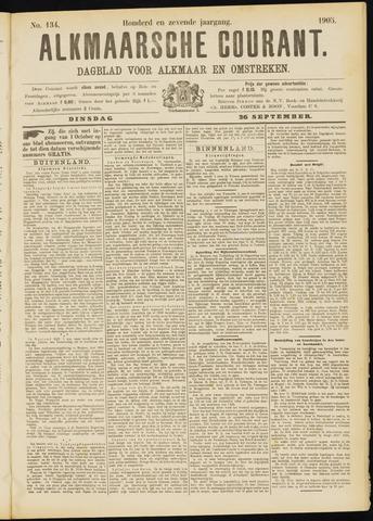 Alkmaarsche Courant 1905-09-26