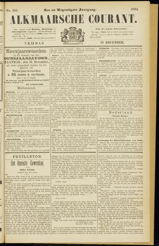 Alkmaarsche Courant 1894-12-28