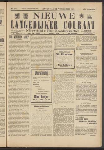 Nieuwe Langedijker Courant 1932-11-12