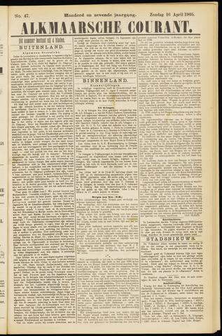 Alkmaarsche Courant 1905-04-16