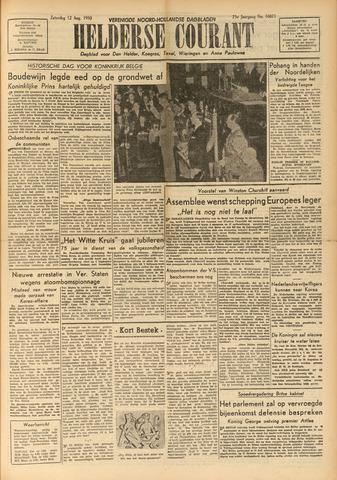 Heldersche Courant 1950-08-12