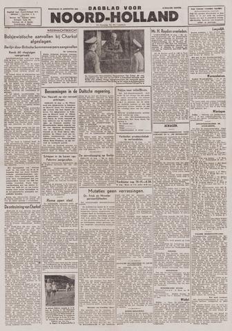 Dagblad Noord-Holland, Schager editie 1943-08-25
