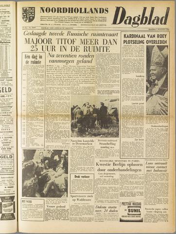 Noordhollands Dagblad : dagblad voor Alkmaar en omgeving 1961-08-07