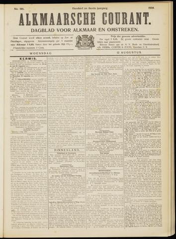 Alkmaarsche Courant 1908-08-12