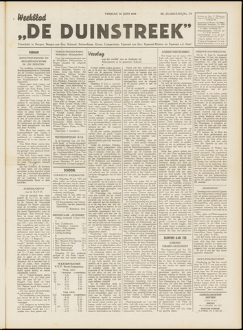 De Duinstreek 1953-06-26