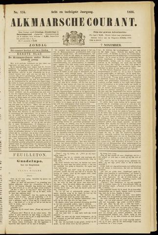 Alkmaarsche Courant 1886-11-07