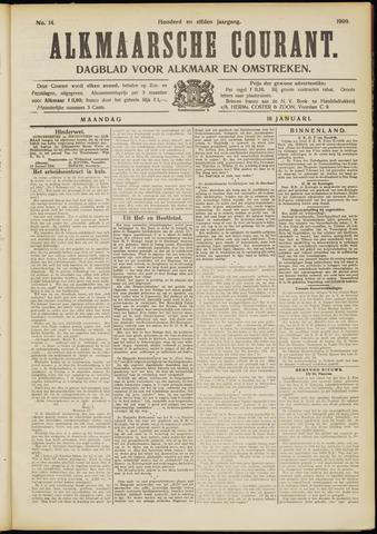 Alkmaarsche Courant 1909-01-18