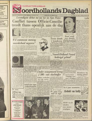 Noordhollands Dagblad : dagblad voor Alkmaar en omgeving 1963-11-09