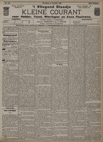 Vliegend blaadje : nieuws- en advertentiebode voor Den Helder 1908-12-23