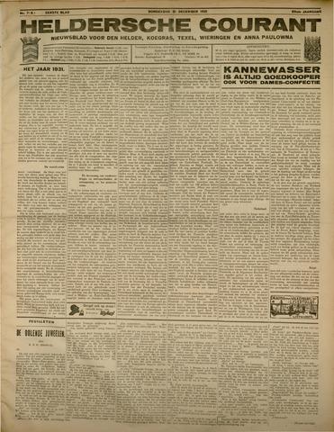 Heldersche Courant 1931-12-31