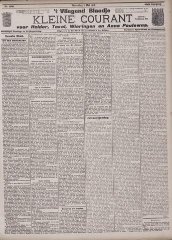 Vliegend blaadje : nieuws- en advertentiebode voor Den Helder 1912-05-01