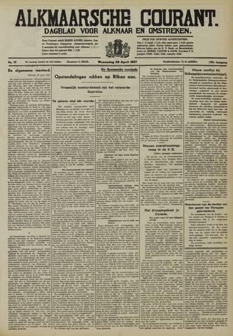 Alkmaarsche Courant 1937-04-28