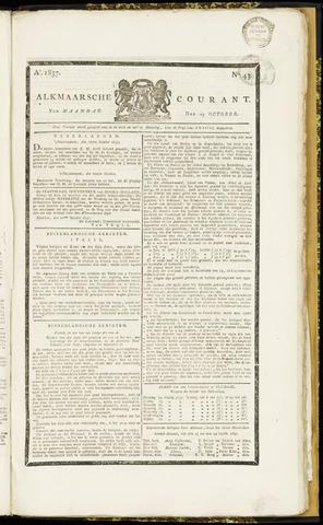 Alkmaarsche Courant 1837-10-23