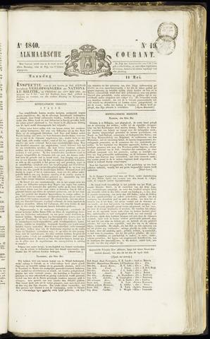 Alkmaarsche Courant 1840-05-11