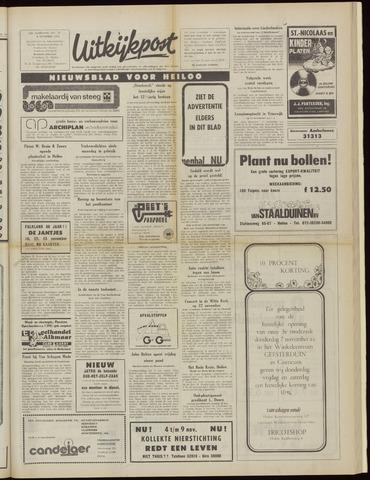 Uitkijkpost : nieuwsblad voor Heiloo e.o. 1974-11-06