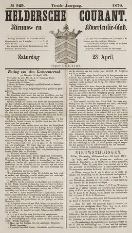 Heldersche Courant 1870-04-23