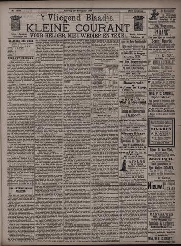 Vliegend blaadje : nieuws- en advertentiebode voor Den Helder 1895-11-30