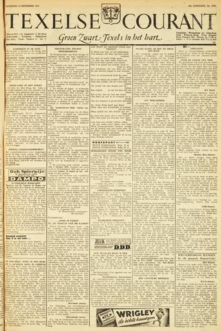 Texelsche Courant 1953-09-12