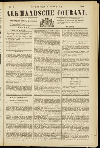 Alkmaarsche Courant 1888-05-18