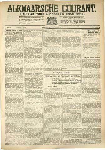 Alkmaarsche Courant 1933-11-23