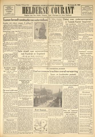 Heldersche Courant 1950-02-01