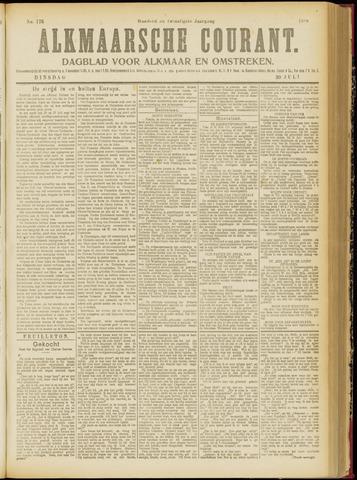Alkmaarsche Courant 1918-07-30