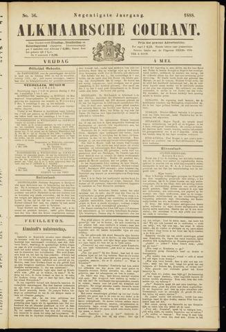 Alkmaarsche Courant 1888-05-04