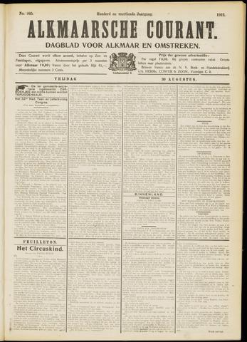 Alkmaarsche Courant 1912-08-30