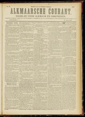 Alkmaarsche Courant 1919-03-27