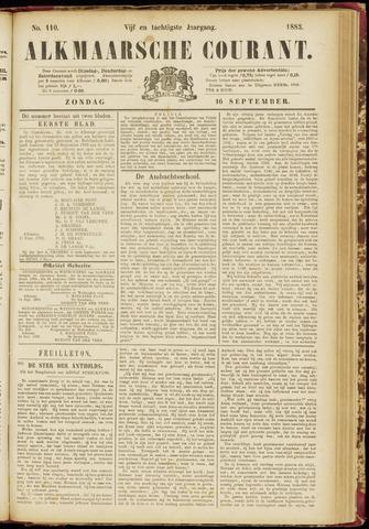 Alkmaarsche Courant 1883-09-16