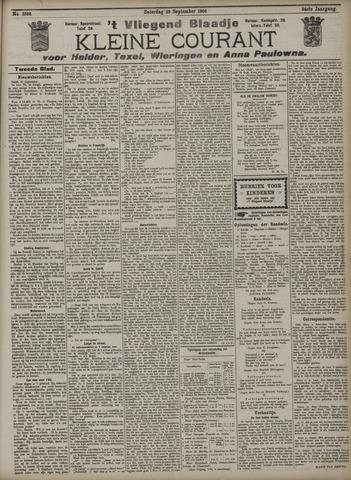 Vliegend blaadje : nieuws- en advertentiebode voor Den Helder 1906-09-29