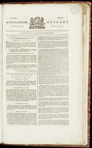 Alkmaarsche Courant 1822-07-22