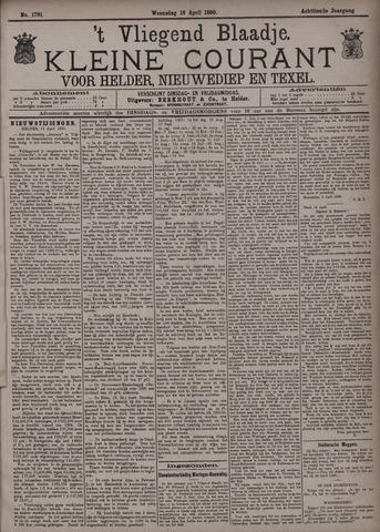 Vliegend blaadje : nieuws- en advertentiebode voor Den Helder 1890-04-16