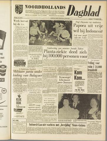 Noordhollands Dagblad : dagblad voor Alkmaar en omgeving 1961-12-01