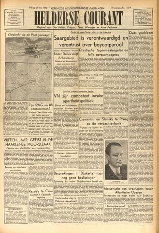 Heldersche Courant 1952-11-21