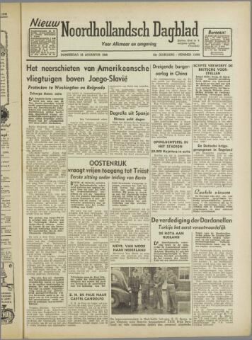 Nieuw Noordhollandsch Dagblad : voor Alkmaar en omgeving 1946-08-22