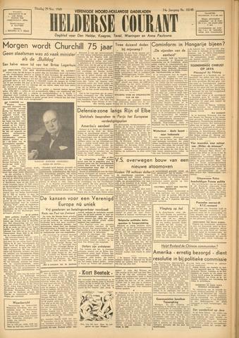 Heldersche Courant 1949-11-29