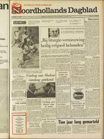 Noordhollands Dagblad : dagblad voor Alkmaar en omgeving 1968-10-15