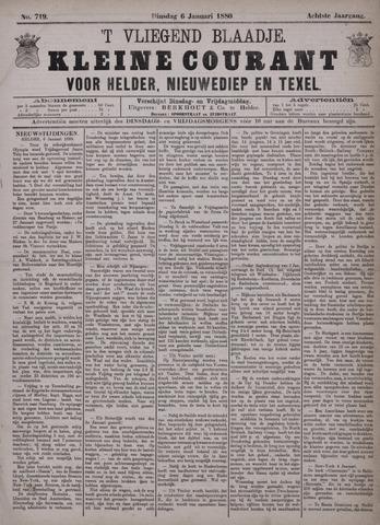Vliegend blaadje : nieuws- en advertentiebode voor Den Helder 1880-01-06