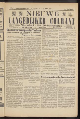 Nieuwe Langedijker Courant 1931-01-06