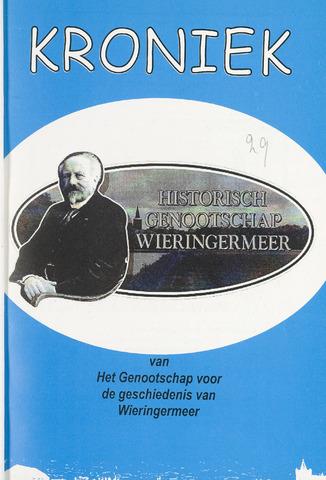 Kroniek Historisch Genootschap Wieringermeer 2001-08-01